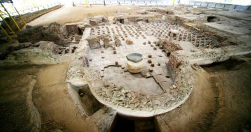 Uitgraving Thermenmuseum Heerlen